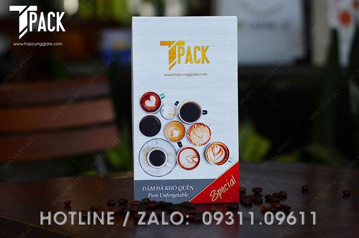 Hộp đựng cafe Tpack 01