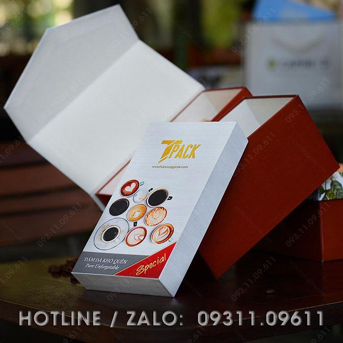 Mẫu hộp đựng cafe Tpack 02