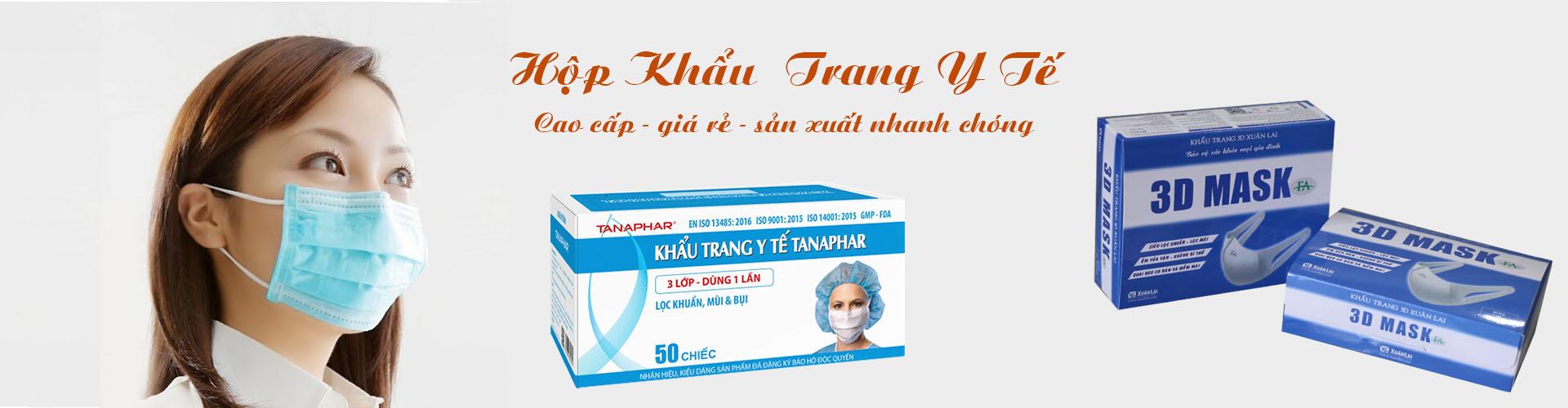 Banner khẩu trang y tế