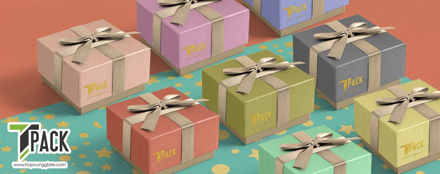 Banner hộp đựng quà tặng đẹp